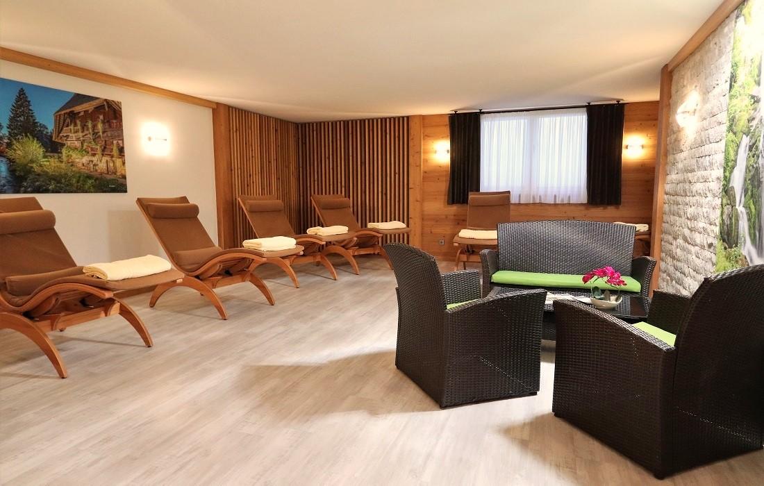 Wellness mit Ruheraum im Hotel Klosterbräustuben
