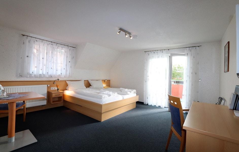 Doppelzimmer im Haus Sonnenschein des Hotel Klosterbräustuben