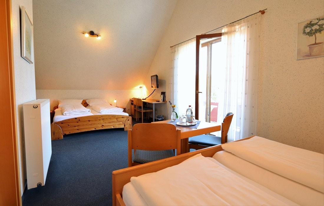 Familienzimmer Hotel Klosterbräustuben