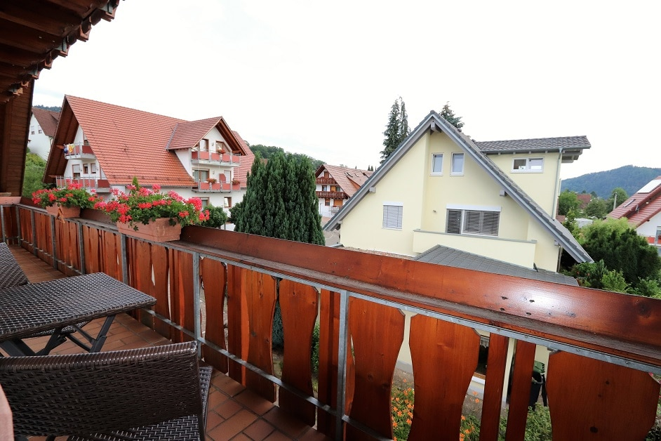 """Ferienwohnung """"Klosterblick"""" Balkon"""