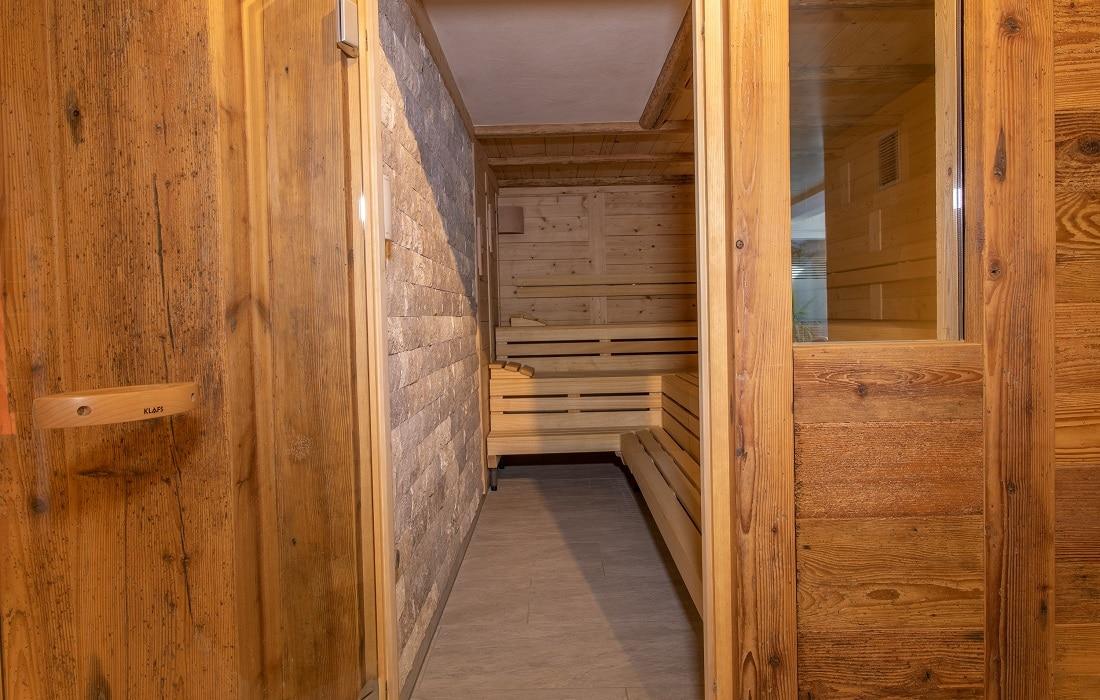 Blick ins Saunarium