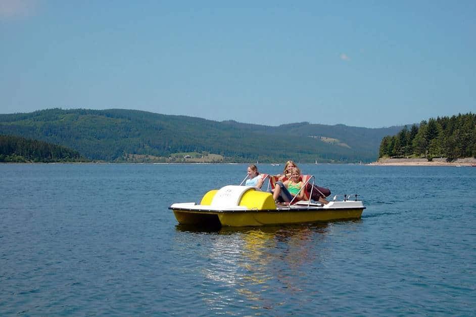 Tretboot fahren Schluchsee