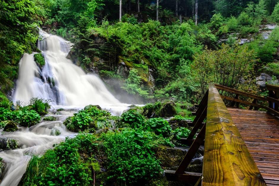Ausflugsziel Triberger Wasserfälle