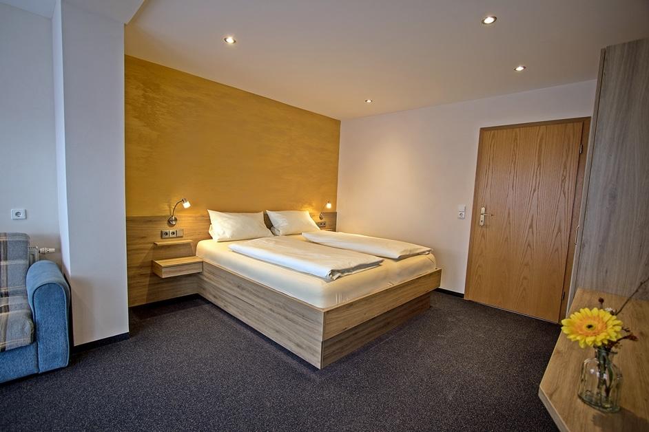 Ferienwohnung Bienenkiste Schlafzimmer