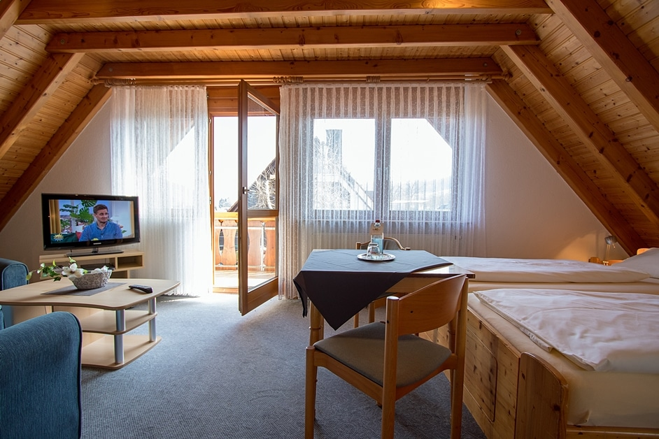 Ferienwohnung Bienenstock mit Balkon und Platz für bis zu 4 Personen