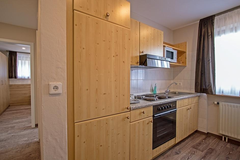 Ferienwohnung Klosterblick Küchenzeile